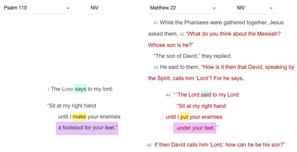 Matthew – OldTestament