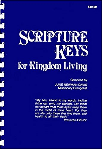 Augmented Instruction On Using Scripture Keys For Kingdom Living