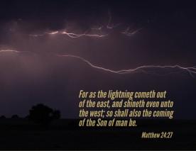 11 Matt 24_27 Lightning East West