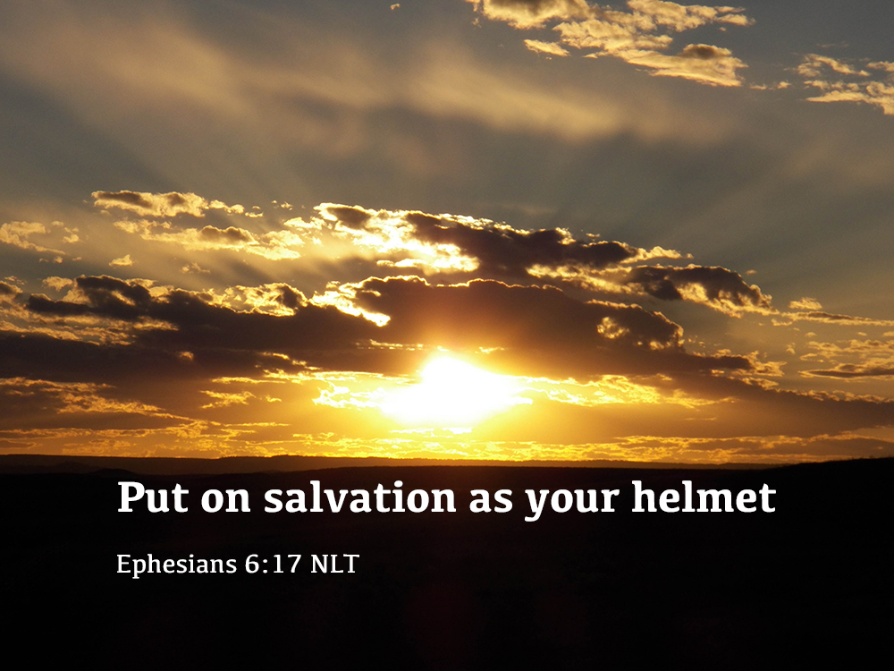 My Helmet of Salvation