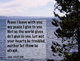 John 14_27 PA150007-4 Peace Leave Give You