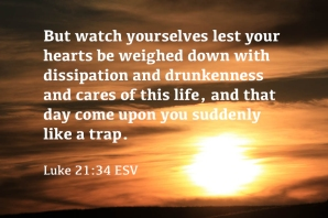 Luke 21_34 IMG_1795 Watch Lest Heart Weighed Down Day Come Like Trap