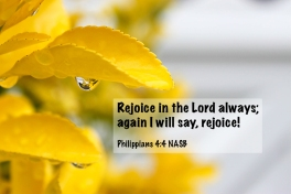 Philippians 4_4 IMG_8871 Rejoice Lord Always Again Rejoice