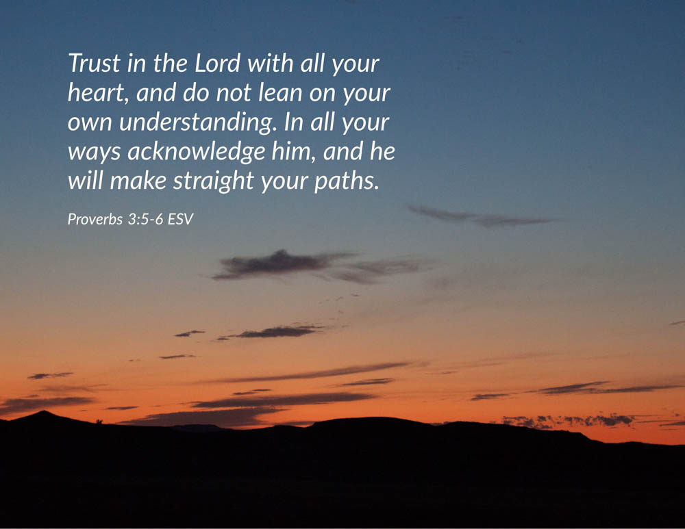 Trust in theLord