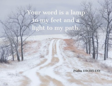 Psalms 119_105 ESV Word Lamp Light