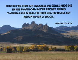 Psalms 27_5 IMG_0096 Hide Me Set Upon Rock