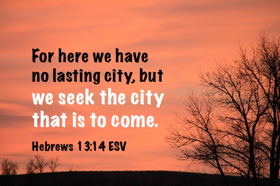 Hebrews 13-14 IMG_3172 Seek The City To Come