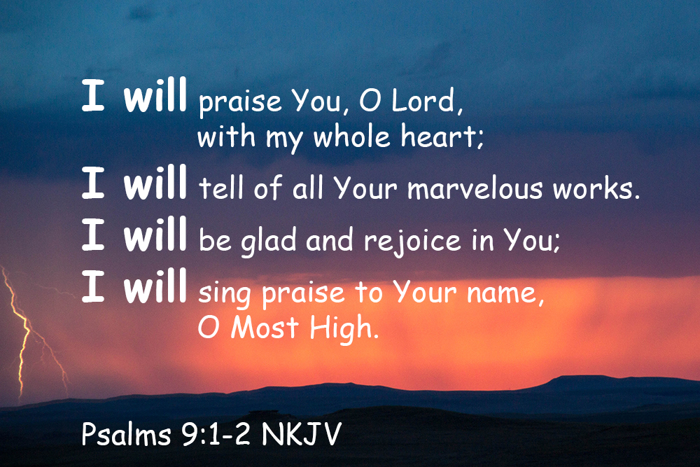 Quoted Photos – Psalms1-30