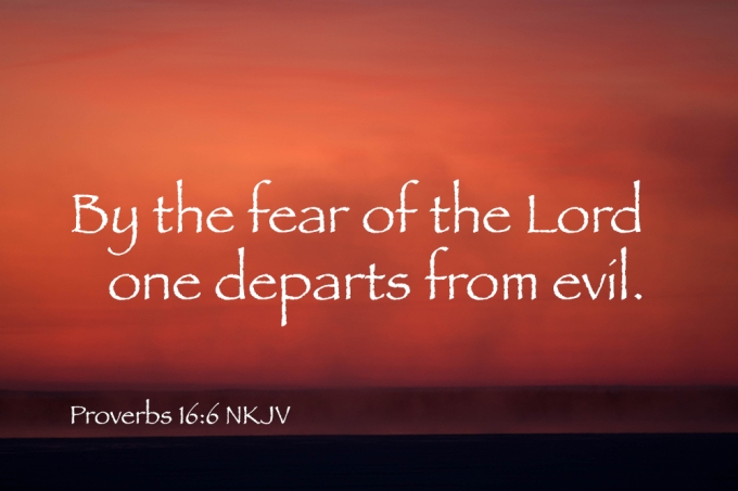 Image result for THE FEAR OF THE LORD