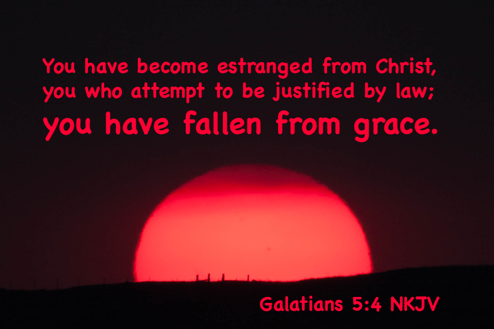 OSAS? The Book ofGalatians