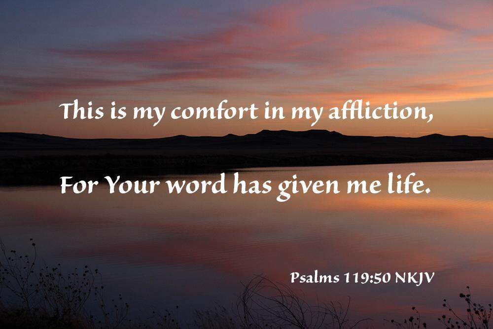 Psalms 119 –Affliction