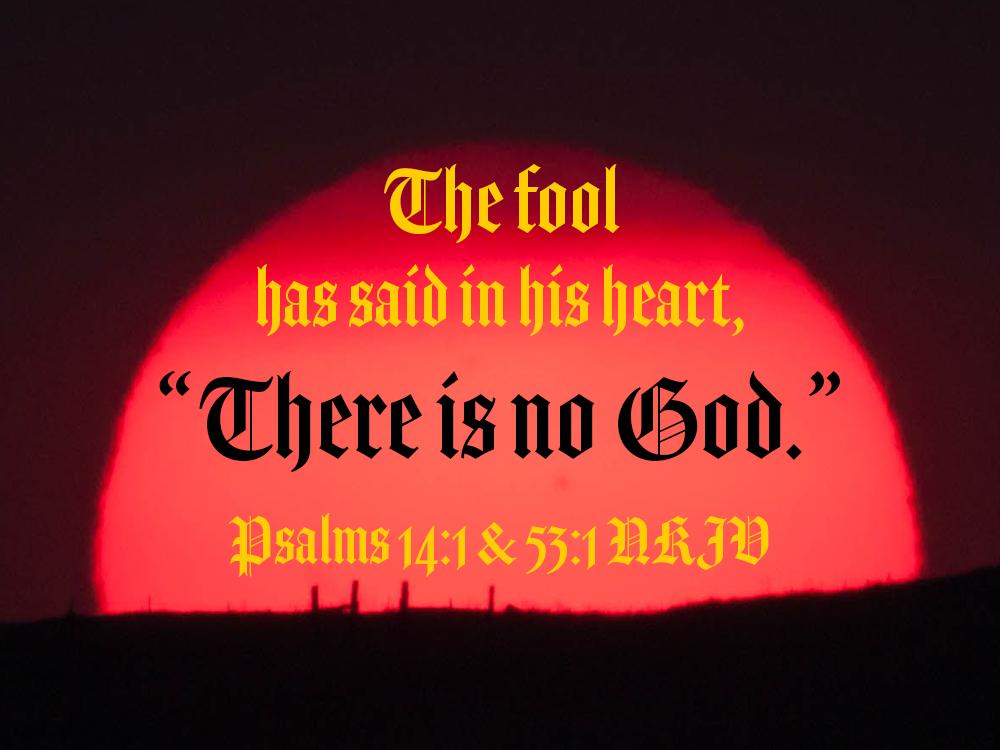 Psalms 14 & 53 – TheFool