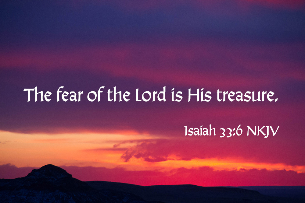 The Fear of the Lord – 6
