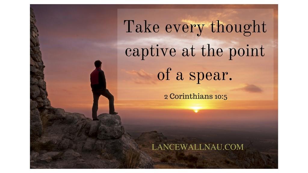 Taking Every ThoughtCaptive
