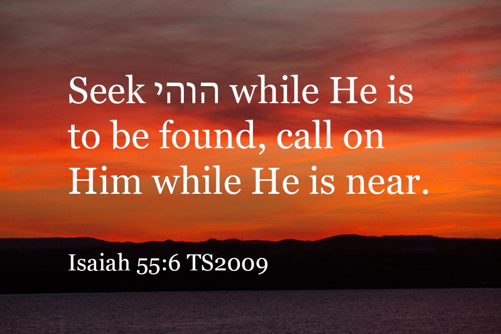Isaiah 55 TS2009
