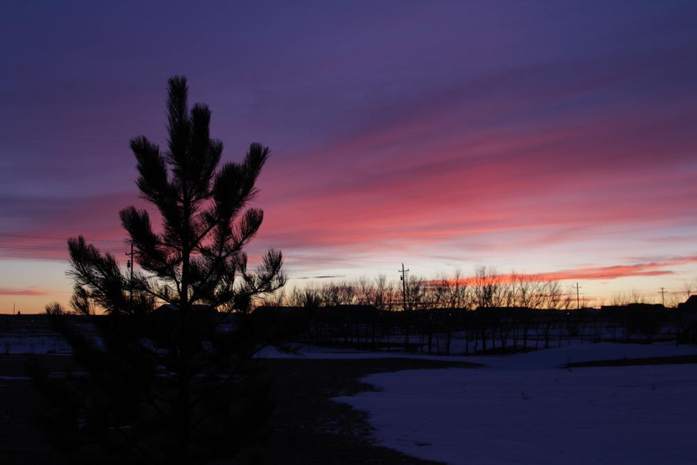 DSLR Sunset Photos